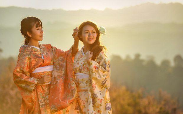Tenues traditionnelles japonaises